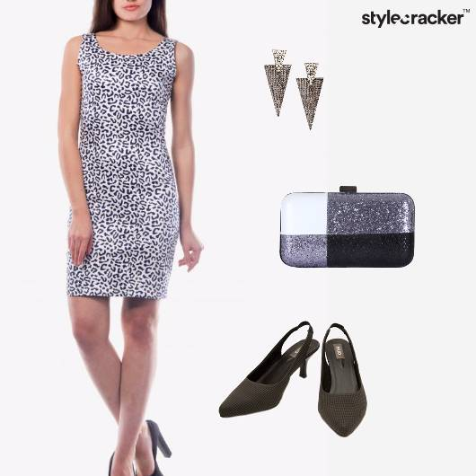 BodyCon AnimalPrint Dress Night Party  - StyleCracker