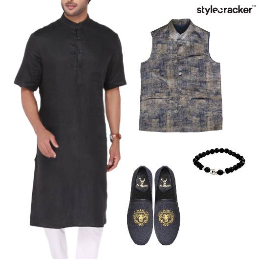 Kurta Jacket Indian Ethnic EID - StyleCracker