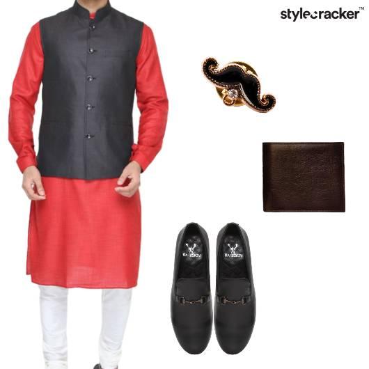 Kurta Jacket Indian Ethnic EID - StyleCracker