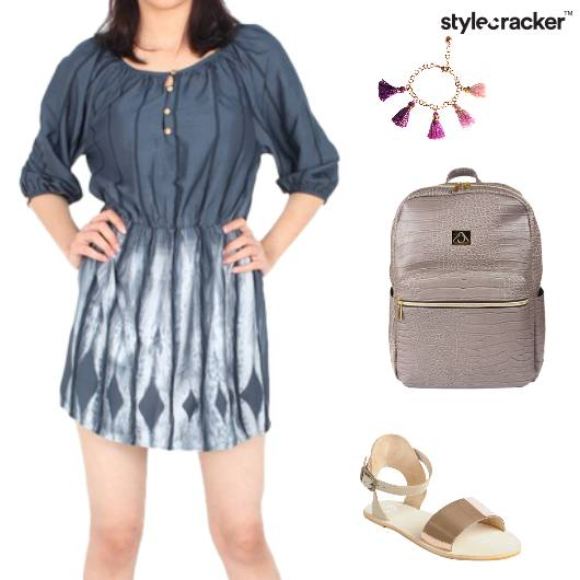 Dress Backpack TasselBracelet Sandals Casual - StyleCracker