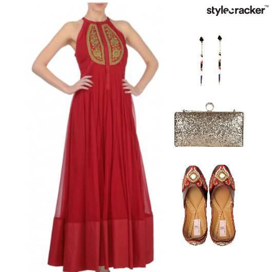 Indian Festive Ethnic Clutch Reception - StyleCracker