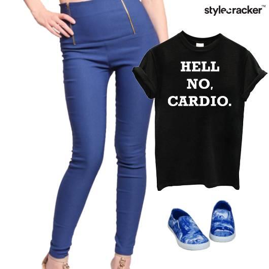 Casual Slogan TShirt SlipOns Comfort  - StyleCracker