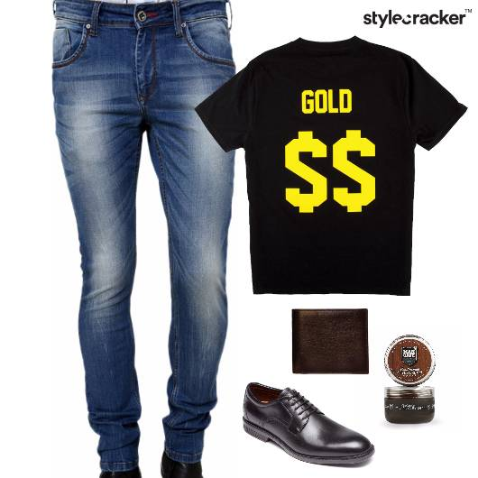 Casual TShirt Lunch Grooming Denim - StyleCracker