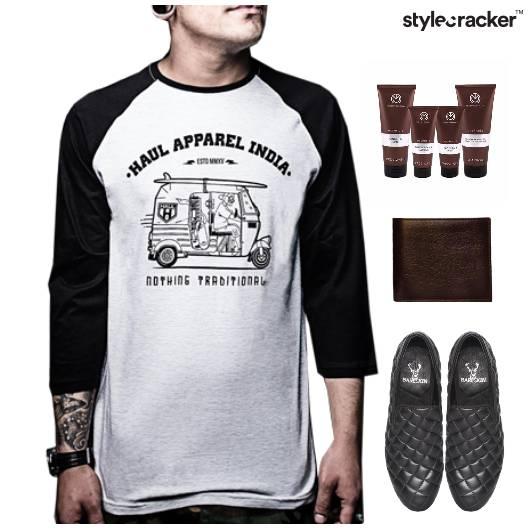 TShirt Casual SlipOn Footwear Lunch - StyleCracker