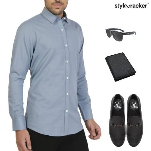 Shirt Trouser SlipOn Lunch Event  - StyleCracker