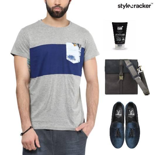 Casual TShirt SlipOn College Work - StyleCracker
