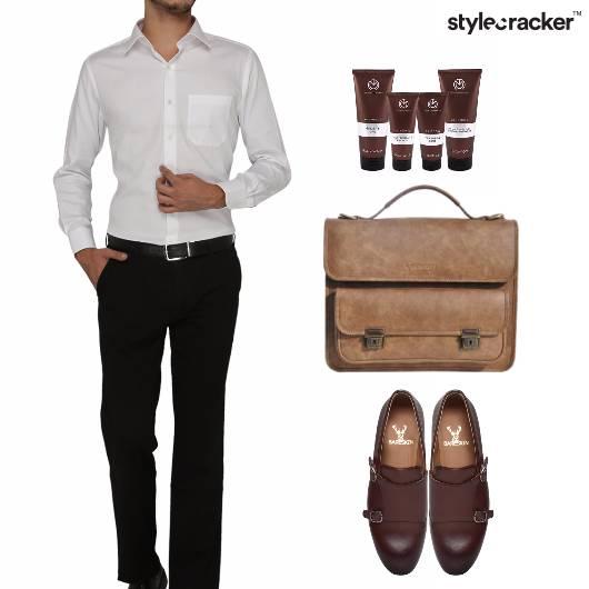Shirt Chinos SlipOns Work Meeting - StyleCracker