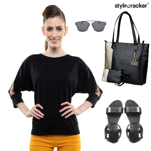 Blouse Top Flats ToteBag Movie - StyleCracker