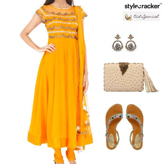 Eid Indian Flats Clutch Ethnic - StyleCracker