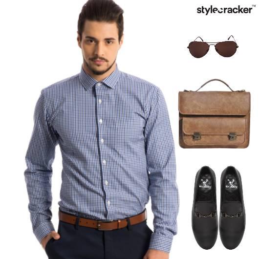 Shirt SlipOns Chinos Work Meeting - StyleCracker