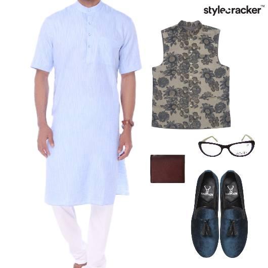 Kurta ModiJacket Slipons Glasses Wallet Ethnic - StyleCracker
