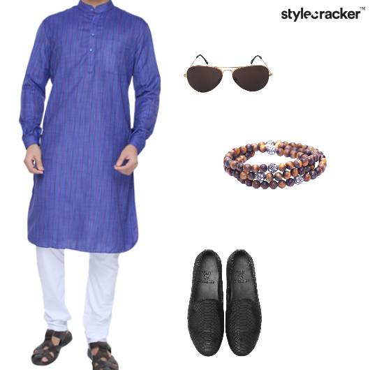 Kurta Loafers Beadedbracelets Aviators  Indian - StyleCracker