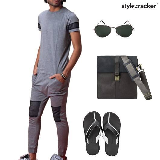 Tshirt Jogger Casual Mesh Trending - StyleCracker