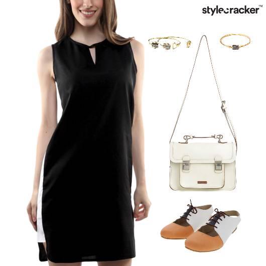 ColorBlock Dress SlingBag Lunch Bracelet - StyleCracker