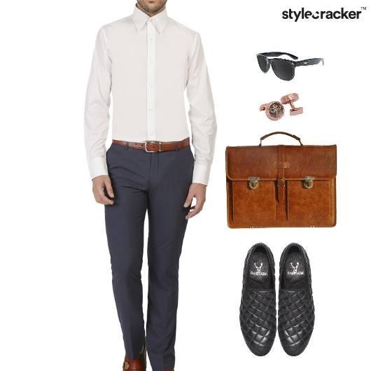 Shirt Chinos SlipOn Work Meeting - StyleCracker