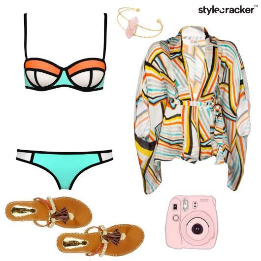 Bikini Vacation CoverUp Sun  - StyleCracker