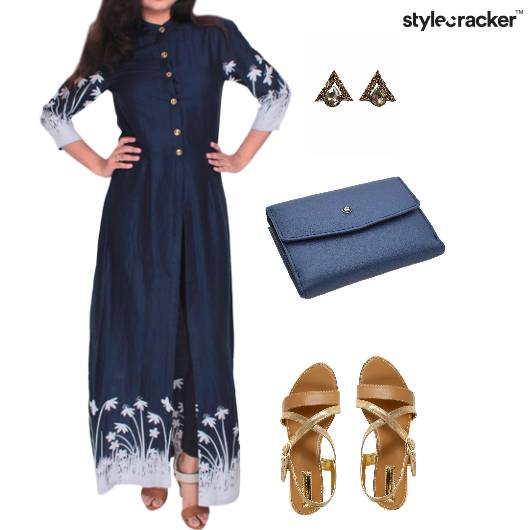 Indowestern Kurta Casual Weekday  - StyleCracker