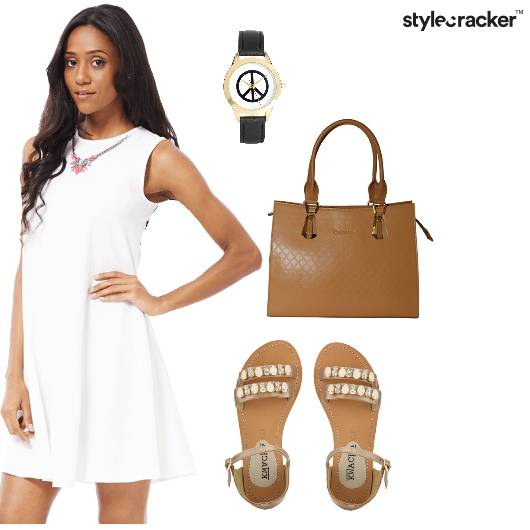 Shift Dress Work Casual Minimalistic  - StyleCracker
