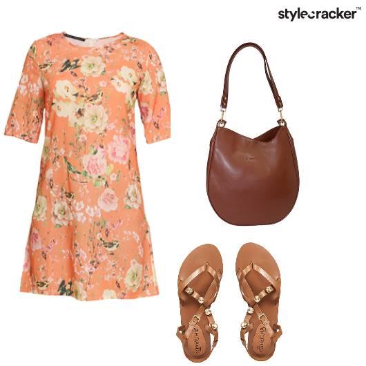 Floral Dress Casual Work Lunch - StyleCracker