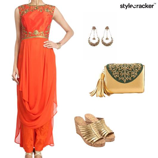 Wrap Indian Ethnic Wedding Festive - StyleCracker
