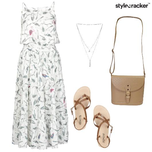 Floral Dress Casual Outing  - StyleCracker