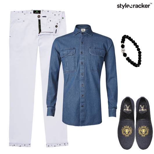 Denim Chino Lunch Casual Day - StyleCracker