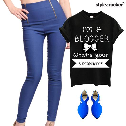 Quoted TShirt Leggings Casual College - StyleCracker