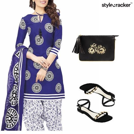 Indian Festive Clutch Flats Ethnic - StyleCracker