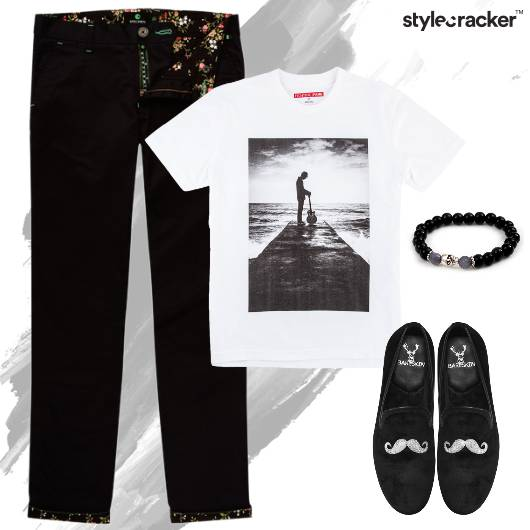 Tshirt Chino Monochrome Casual Outdoor - StyleCracker