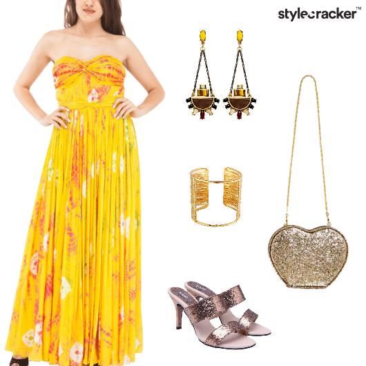 Tie&Die Indian Gown Party Wedding - StyleCracker