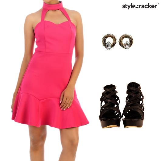 Skater Dress Night Party - StyleCracker