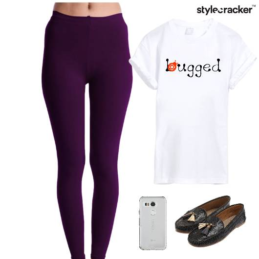 Casual TShirt Leggings Comfort Weekend - StyleCracker