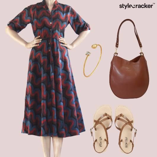 Dress Flats Hobobag Brunch - StyleCracker