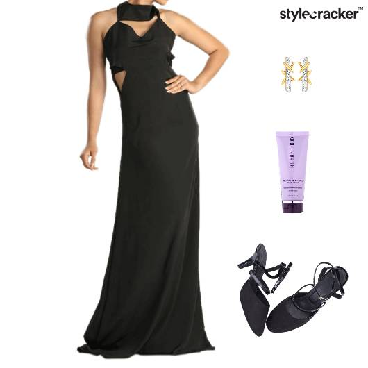 Maxi Dress Dinner Party SlingBack  - StyleCracker