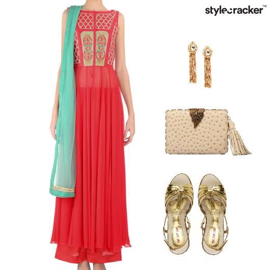 Indian Festive Ethnic Clutch Accessories - StyleCracker