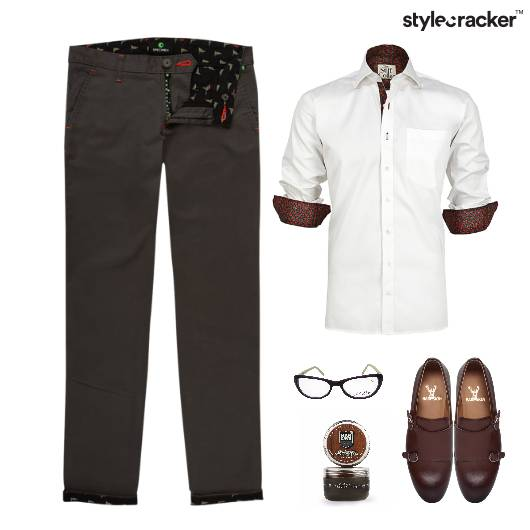 Shirt Chinos Work Meeting StyleCream - StyleCracker