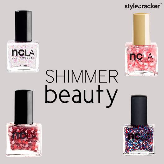 Beauty NailPaint Shimmer  - StyleCracker
