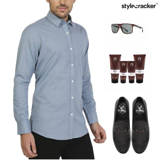 Shirt Work GroomingKit SlipOns Dinner - StyleCracker