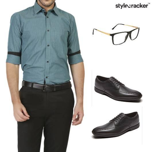 Shirt Pants Formal Work Basic - StyleCracker