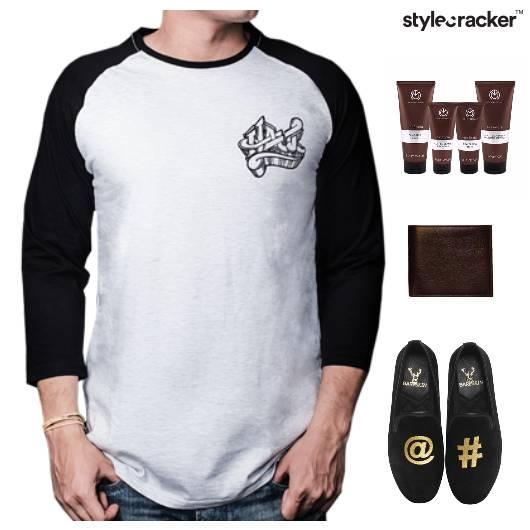 TShirt SlipOn Shoes Grooming Kit Casual - StyleCracker