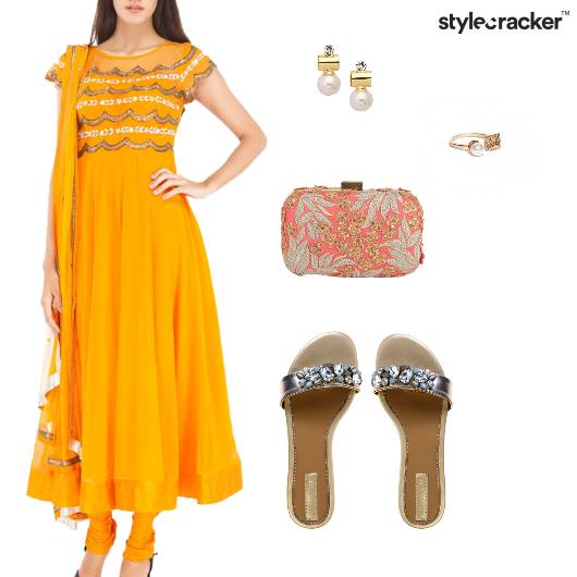 Anarkali Indian Ethnic Festive Wedding - StyleCracker