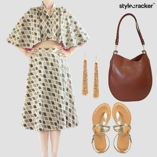 Skirt Flats Bag Tassel  - StyleCracker