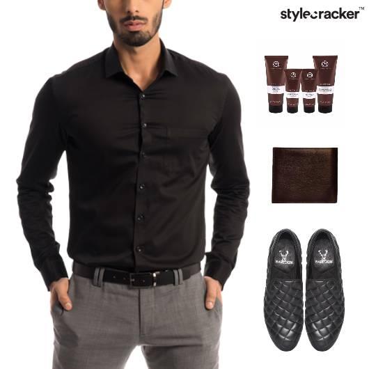 Shirt Chinos SlipOn Footwear Dinner - StyleCracker