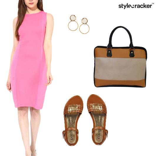Bodycon Midi Dress Work  - StyleCracker