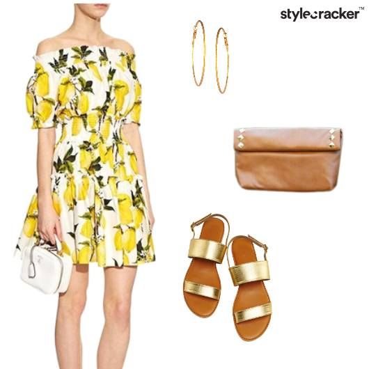 Floral OffShoulder Dress Casual  - StyleCracker