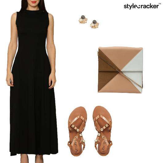 Midi Dress Casual Outing Lunch - StyleCracker