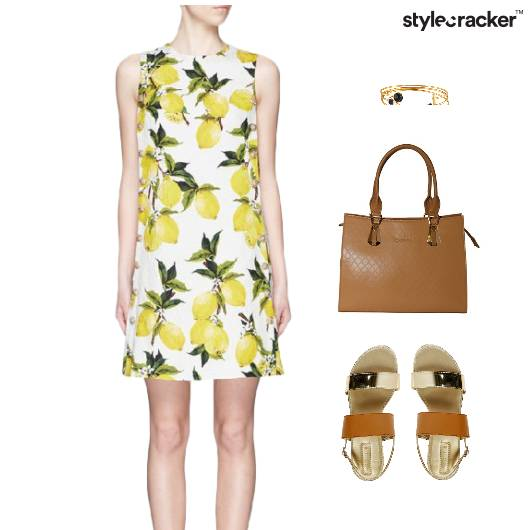 Printed Dress Flats Lunch Footwear - StyleCracker