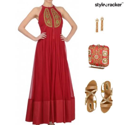 Indian Festive Wedding Ethnic Anarkali - StyleCracker