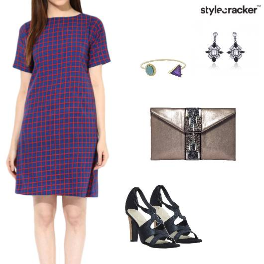 Plaid Dress Casual Weekend Date - StyleCracker
