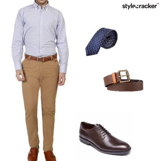 Shirt Chinos Oxfords Tie Work  - StyleCracker